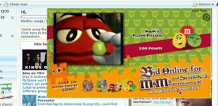 M&M Shrek Online Bidding Site - Fireworks Digital