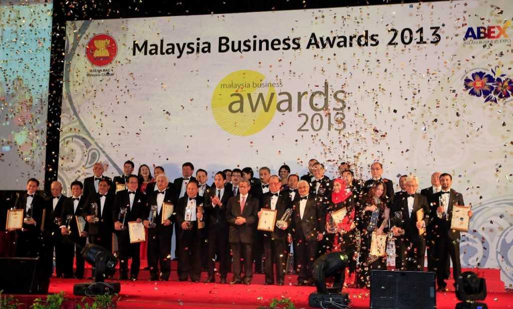 The Malaysia Business Award 2013 Winners